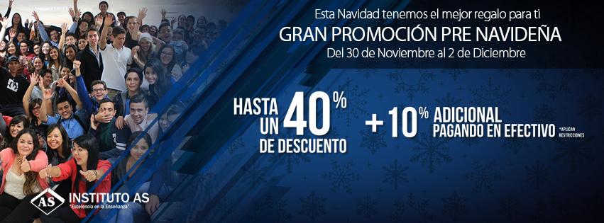 Tenemos para ustedes la mejor promoción navideña :) A partir de hoy hasta el miércoles  www.ascapacitacion.com