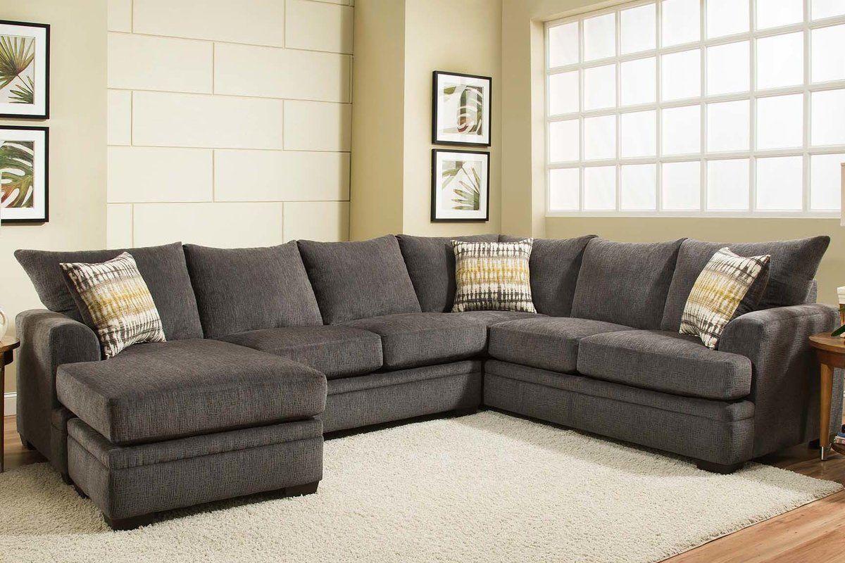 Louis Sectional Birch Lane Earthy living room