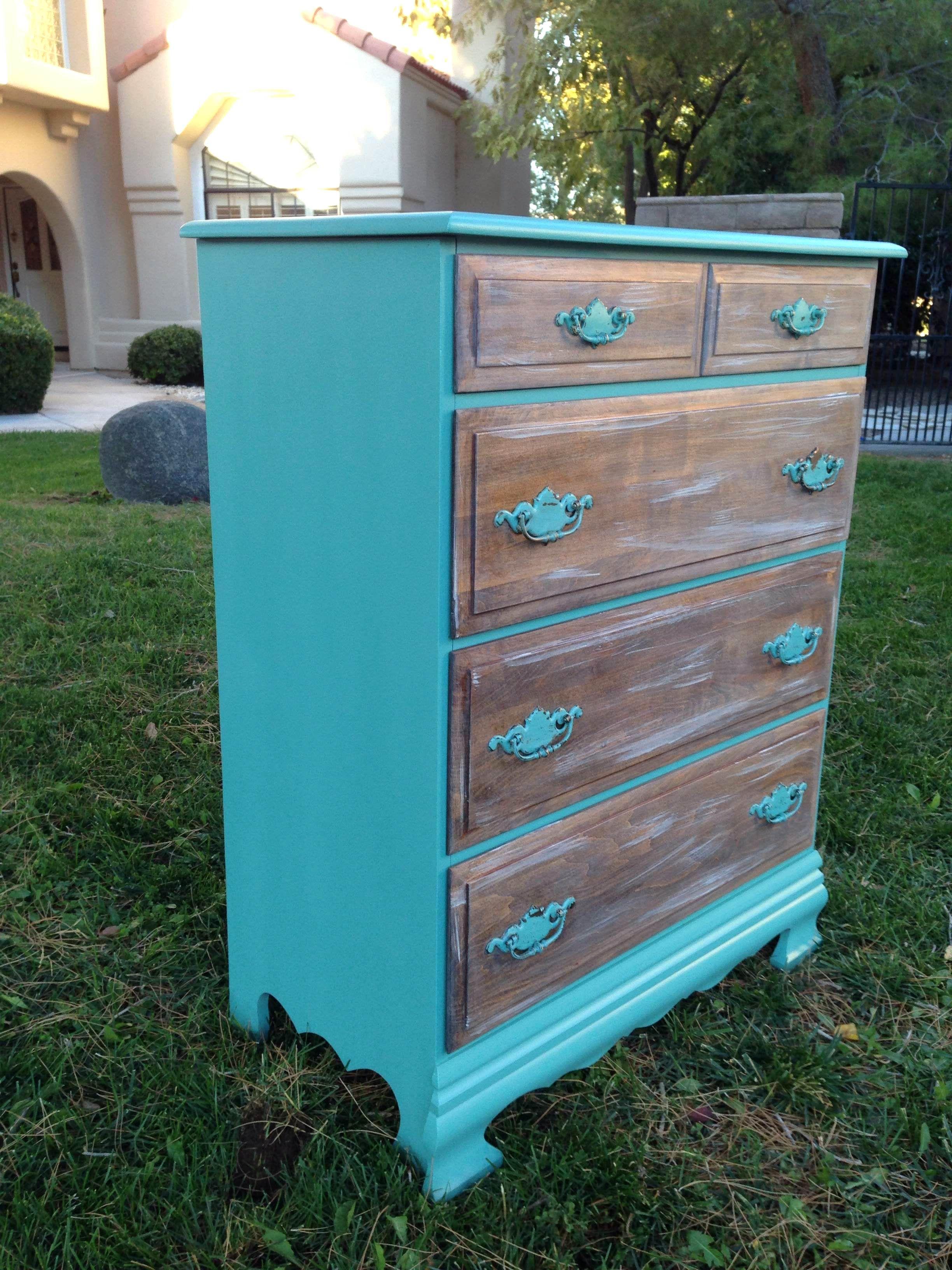 Teal Dresser With Whitewashed Drawers 150 Teal Dresser Bedroom Drawers Dresser