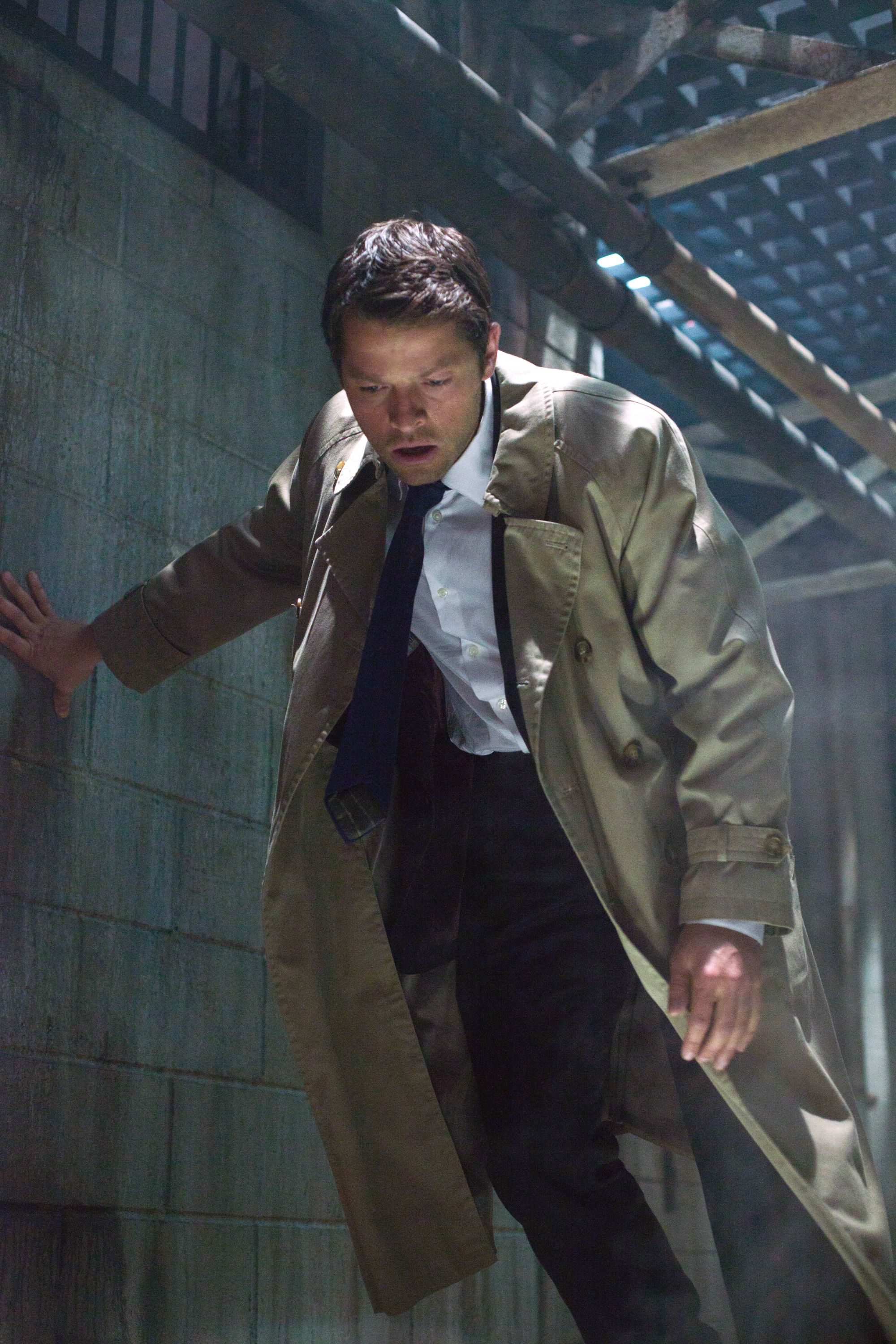 """Supernatural -- """"A Little Slice of Kevin"""" -- Image SN807a_00245 – Pictured: Misha Collins as Castiel -- Credit: Liane Hentscher/The CW -- © 2012 The CW Network. All Rights Reserved"""