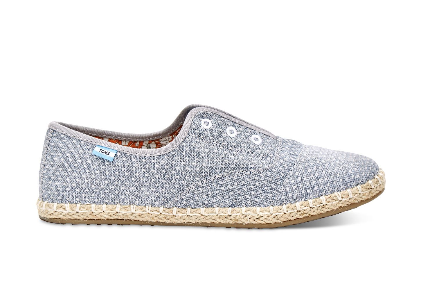 c4ff49d562e undefined Chambray Dot Women s Palmera Slip-Ons