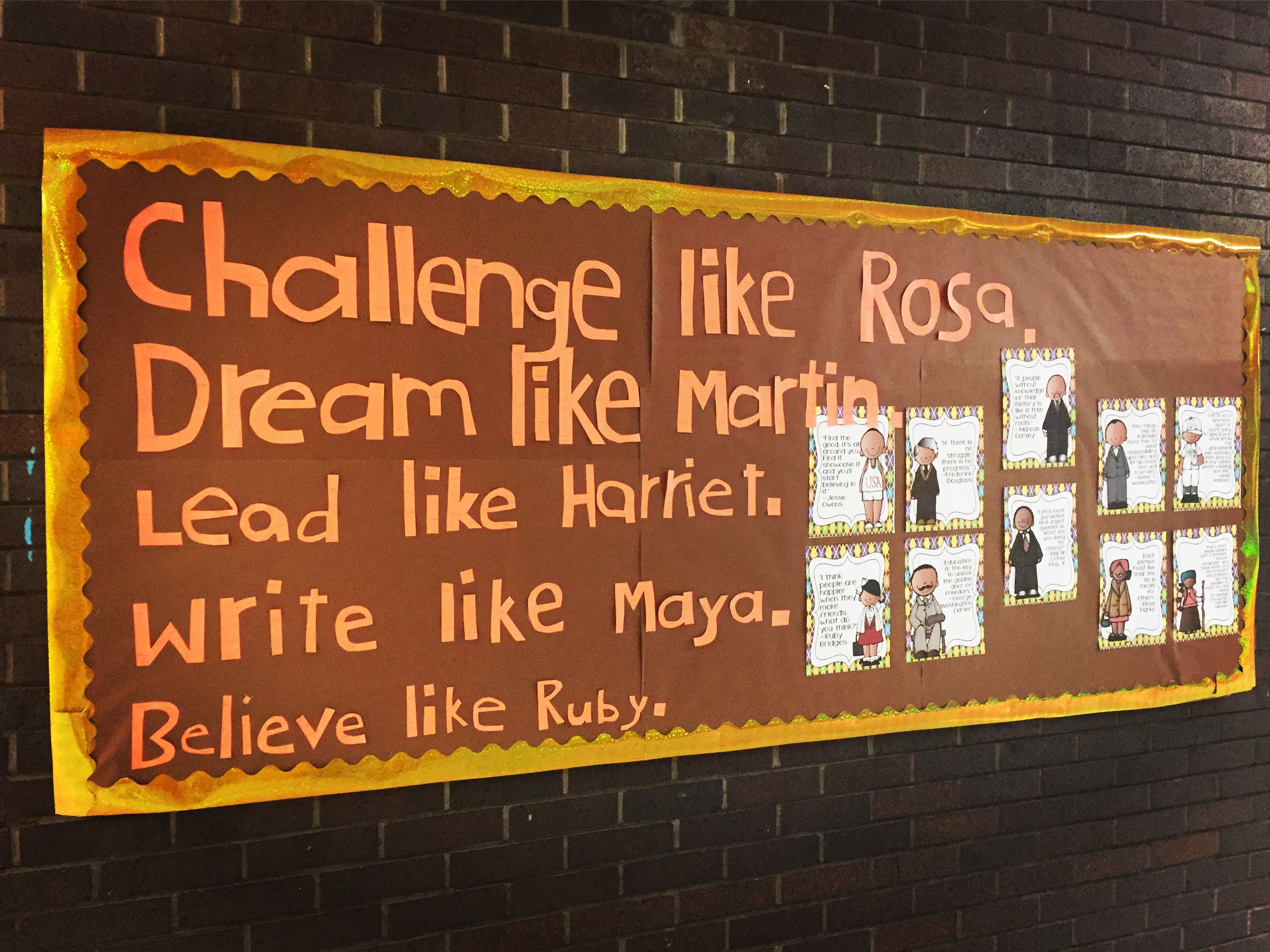 February Hallway Bulletin Board With Images