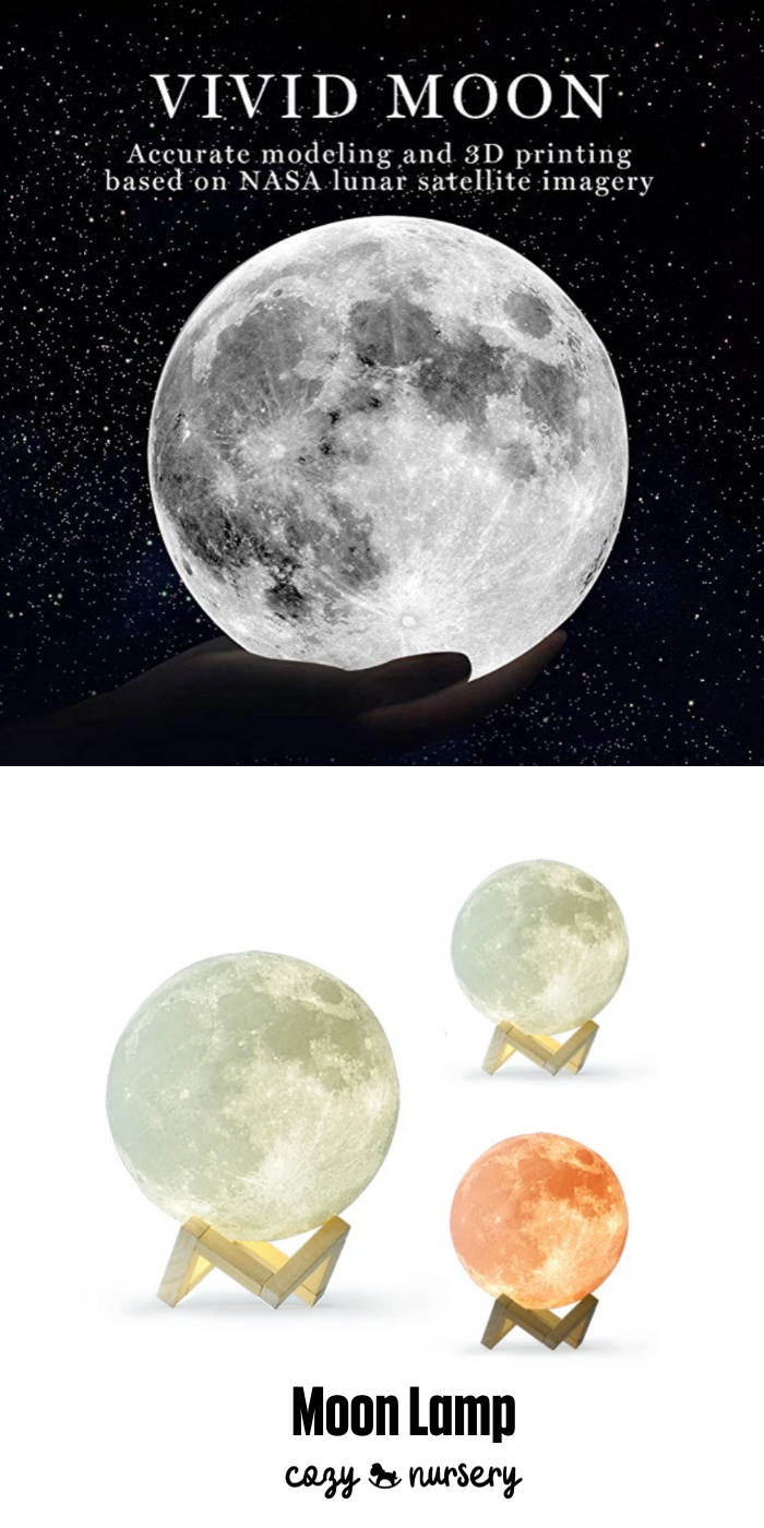 3d Print Moon Lamp In 2020 Nursery Lamp Outer Space Nursery Magical Gift