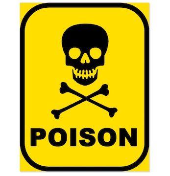 poison warning sign agradecido muerto pinterest warning signs