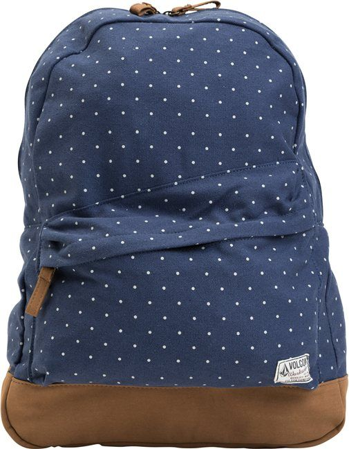 2cfe0a979f66 Volcom Navy spotty back pack