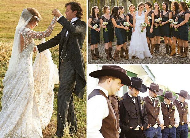 Western Country Wedding Ideas
