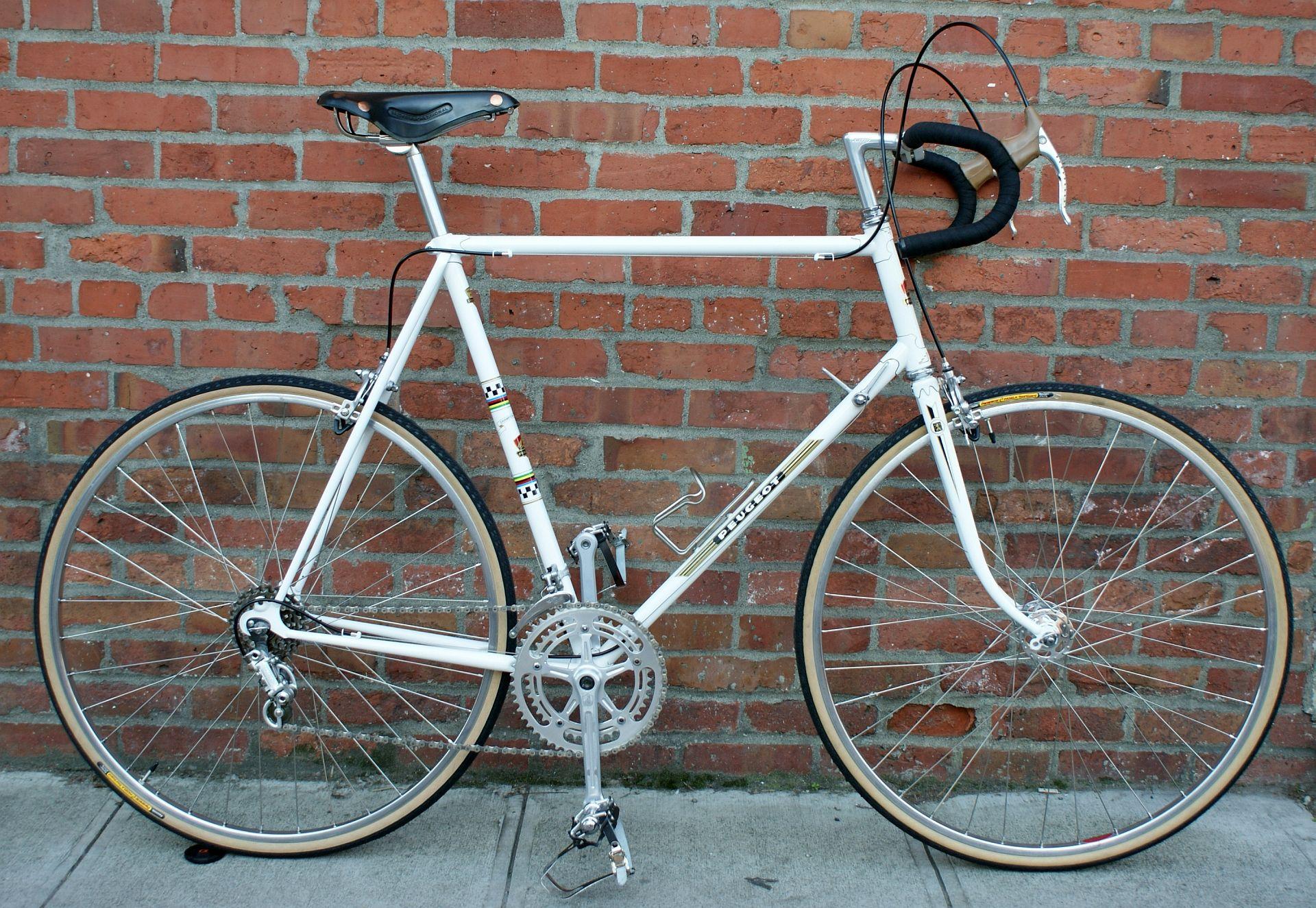 Peugeot Uo8 1975 Restoration Road Bike Vintage Restoration Vintage Bikes