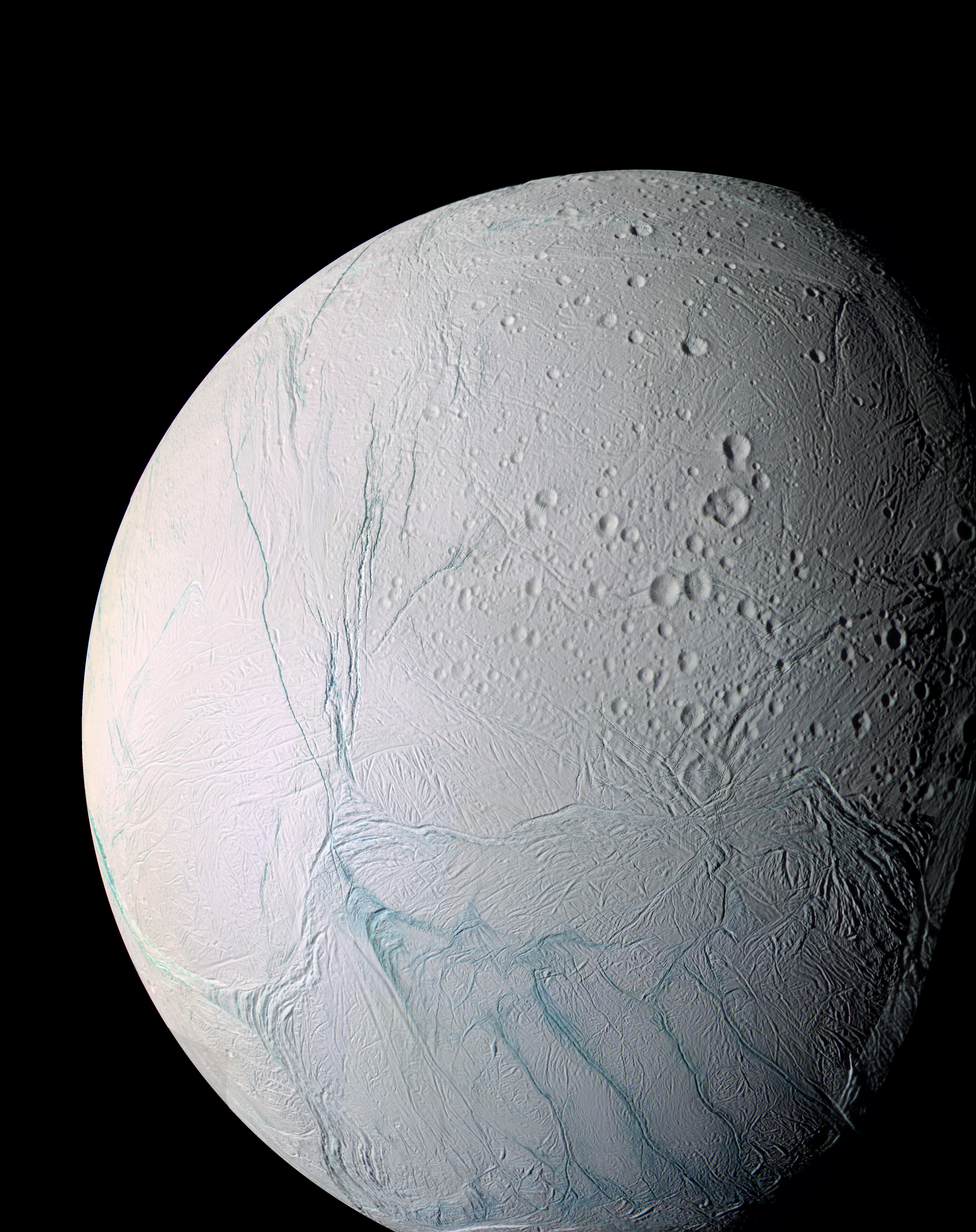 Saturn's icy moon - Enceladus
