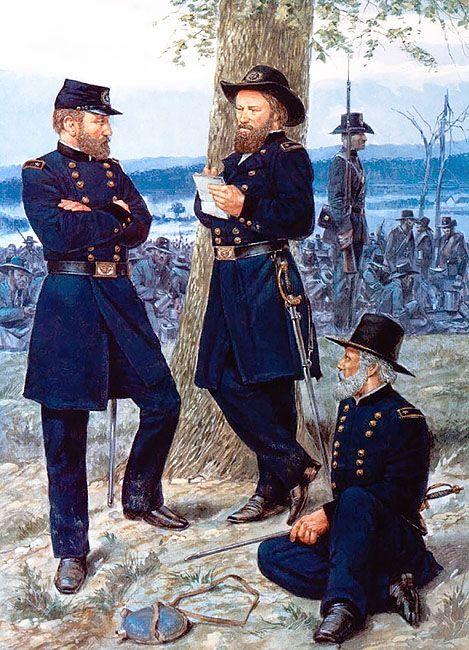 August 1862 Major General Fitz John Porter Major General John Pope Major General Edwin Sumner Civil War Generals American Civil War Civil War Artwork