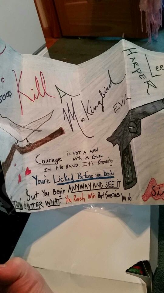 To Kill A Mockingbird Poster | My Projects | Reading projects, To