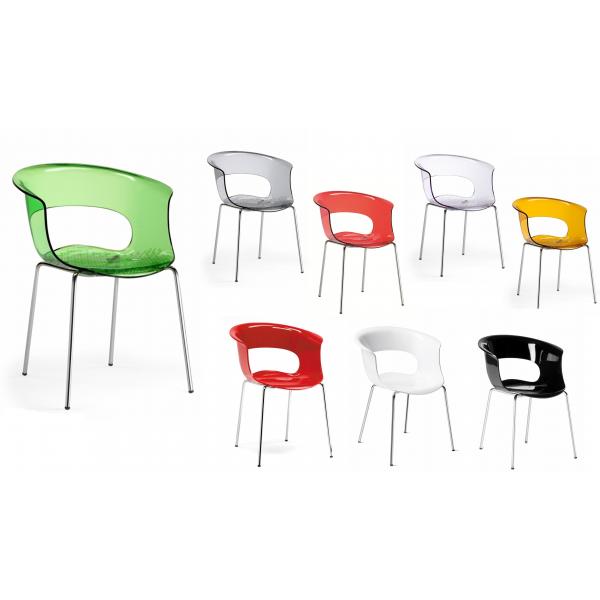 sedia da ufficio antishock modello miss b sedie eleganti robuste comode e moderne