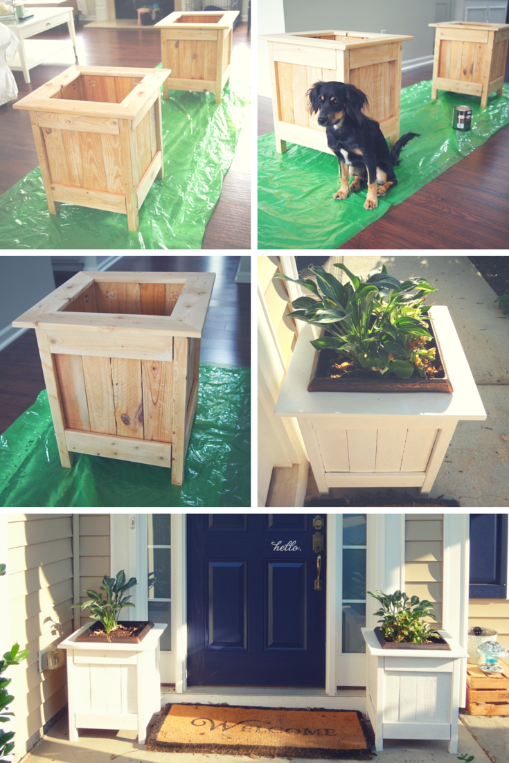 Diy planter boxes with pallet wood do it yourself home projects diy planter boxes with pallet wood diy projects solutioingenieria Image collections