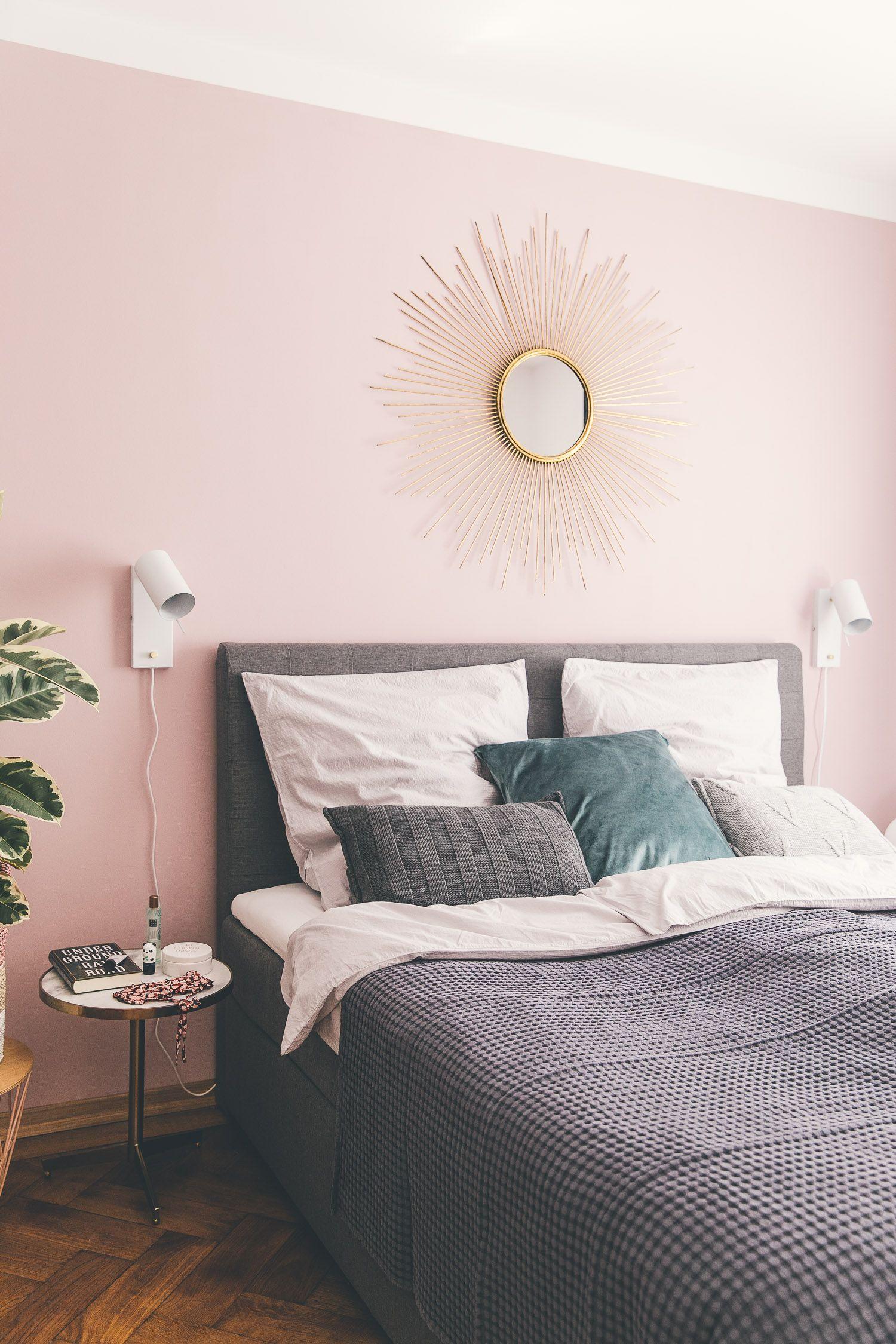Ein Schlafzimmer Update Mit Bildern Rosa Wände