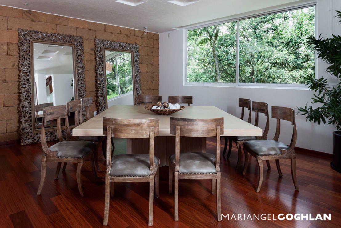 Decoraci n de interiores 10 ideas brillantes con for Decoracion de espejos para comedor