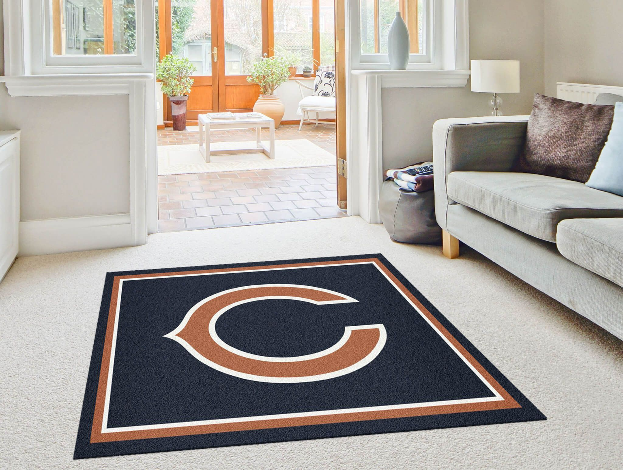 Chicago Bears Logo Rugs Online Rug Rats