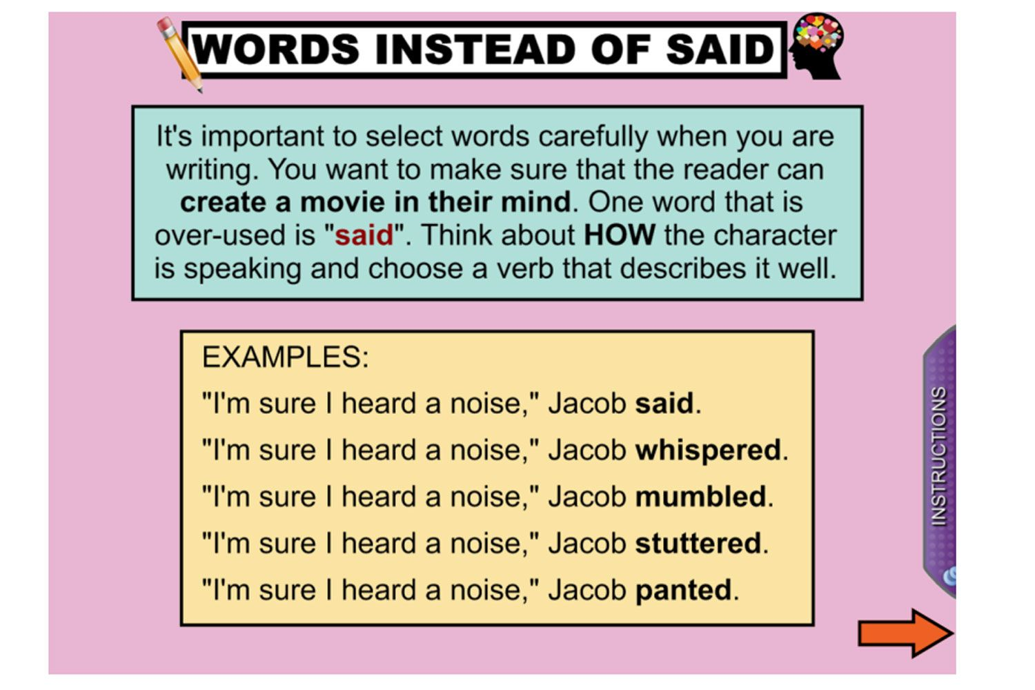 Expand Your Students Vocabulary With This Great Iwb