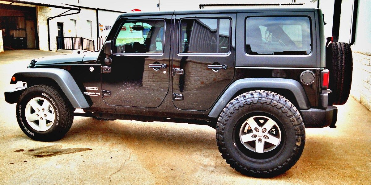 Awesome Jeep Wrangler Tire Size Options