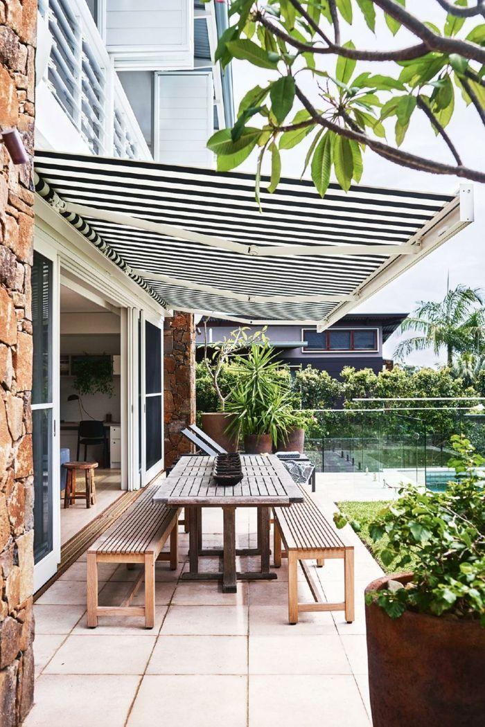 1001 ideas de decoraci n de terrazas con encanto - Marquesinas para terrazas ...