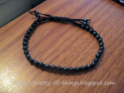 Pull String Bracelet Closure