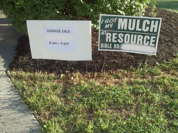 Ideas For Reusing Yard Signs Yard Signs Open House Signs Garage Sale Signs