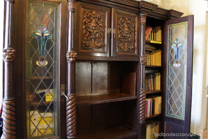 Armario estilo espa ol realizado por ebanista de santiago de compostela principios siglo xx - Muebles en santiago de compostela ...