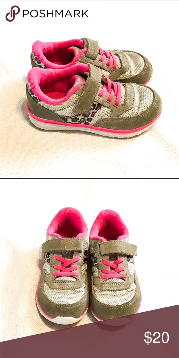 93fde0f5 Toddler Girl Saucony Sneakers Good used condition. Size 8.5M ...