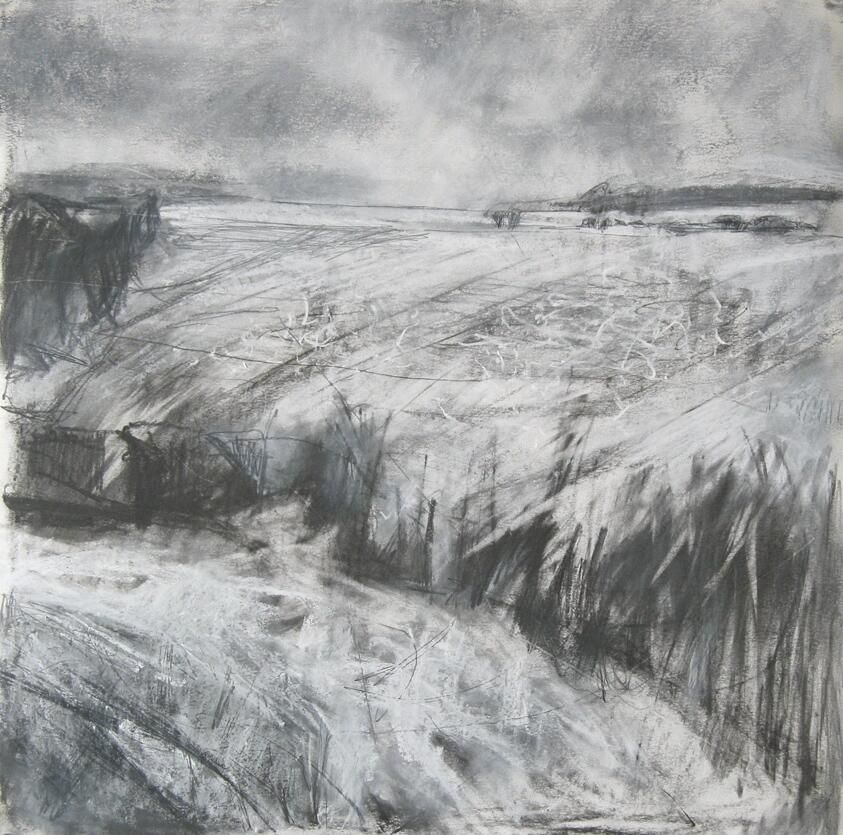 Mallgalleries On Landscape Paintings Charcoal Drawing