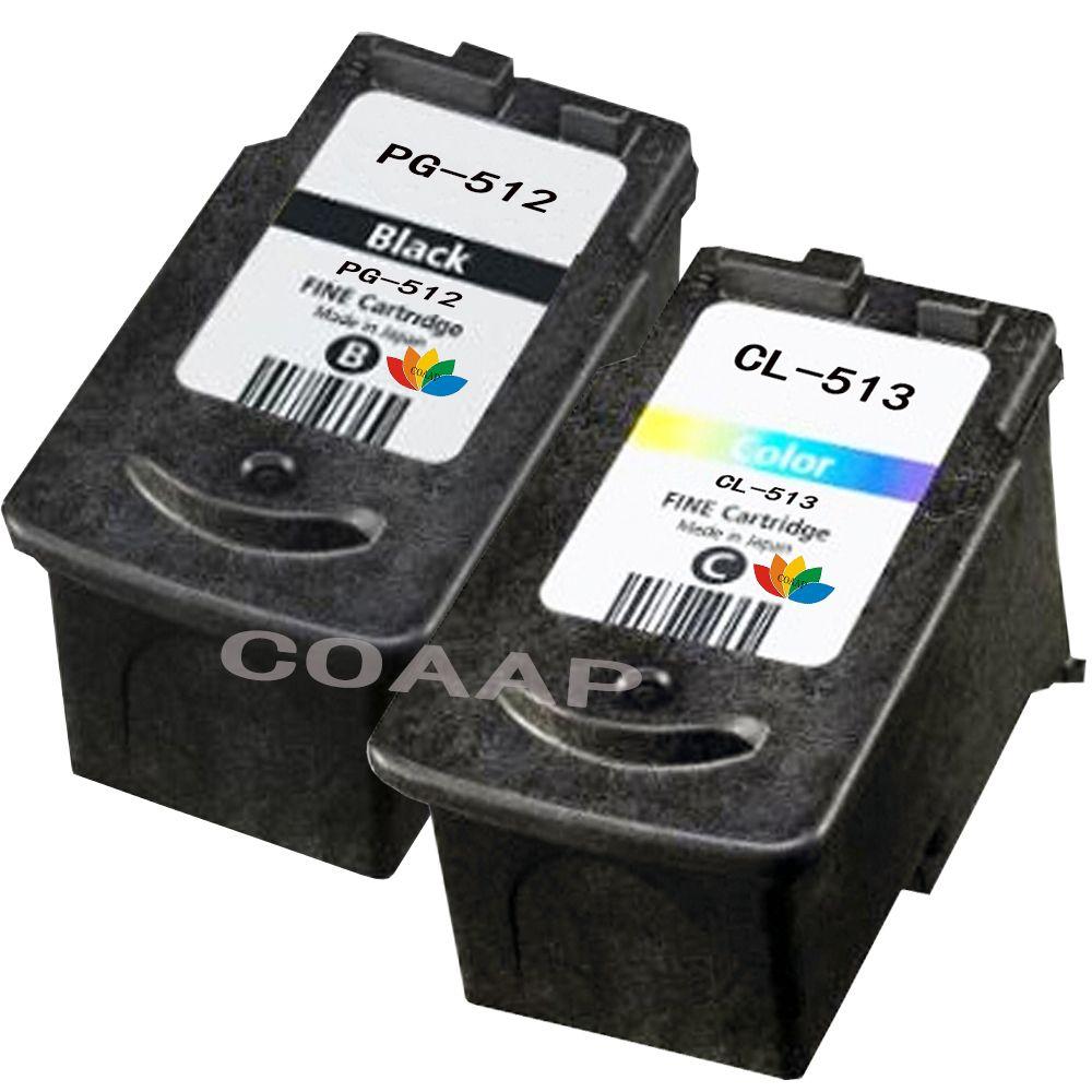 2pk Compatible 512 513 Ink Cartridge For Canon Pg Cl Pg512 Tinta Black Noir 1 Liter Best Set Click Visit To Read Descriptions