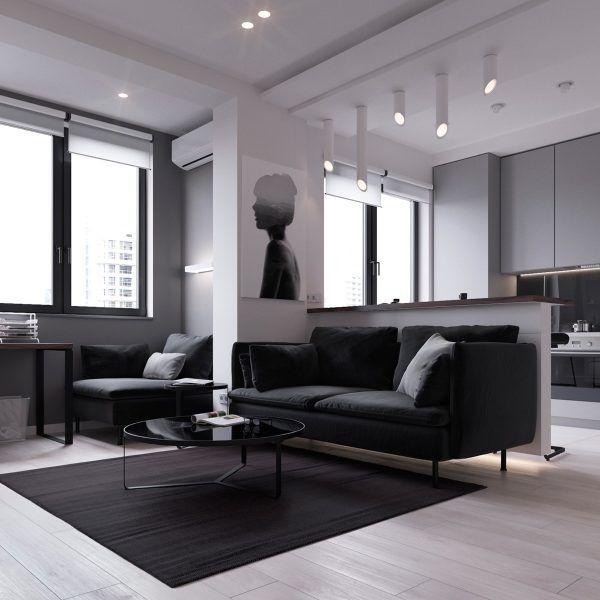 Apartments in moscow on behance modern interior architecture design also minimalist apartment decoration ideas home rh pinterest