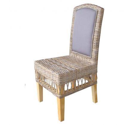 9803c9a2b7868 ratanová jedálenská stolička MEGA - Cuba grey | židle | Židle