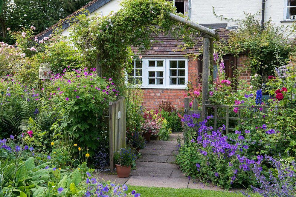 Image Result For European Cottage Front Yard Fence Cottage Garden Plan English Cottage Garden Cottage Garden Design