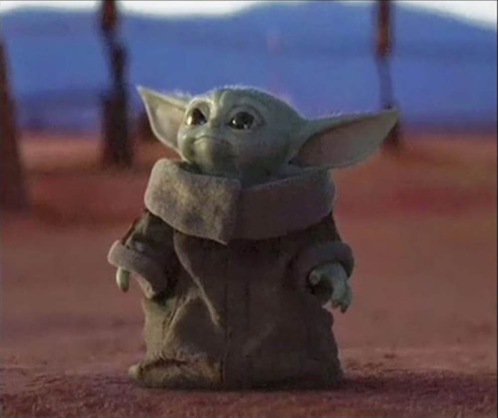 Baby Yoda Blank Meme Template (With images) Meme
