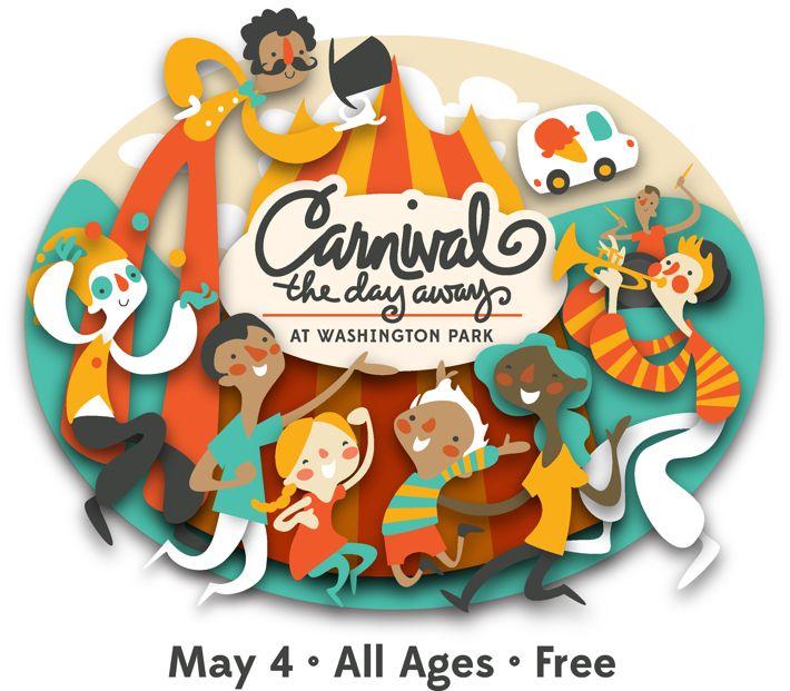 Logo Design: Carnival the Day Away by Erin Barker, via Behance