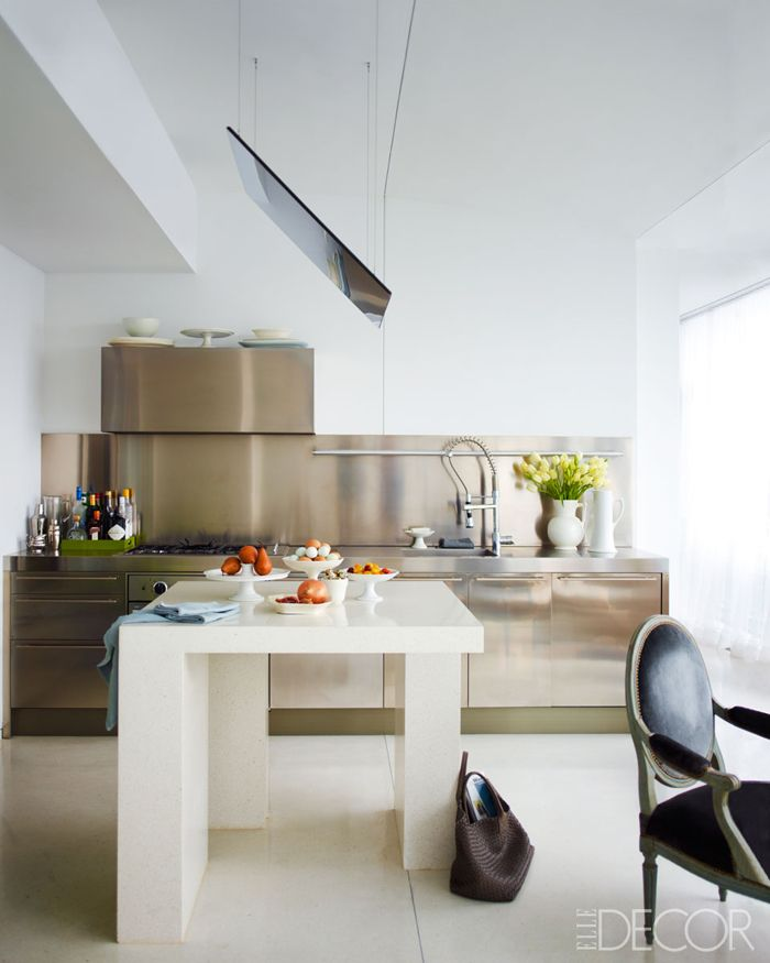 Welcome To The Kitchen Of Michael Leva Designer Author And Cur Creative Consultant Jean Nouvelstainless Steel