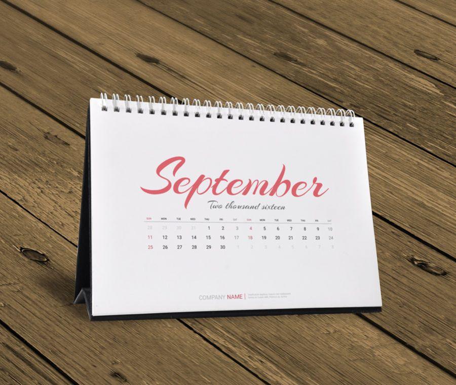 desk calendar 2016 design template kb10 w15d calendars pinterest