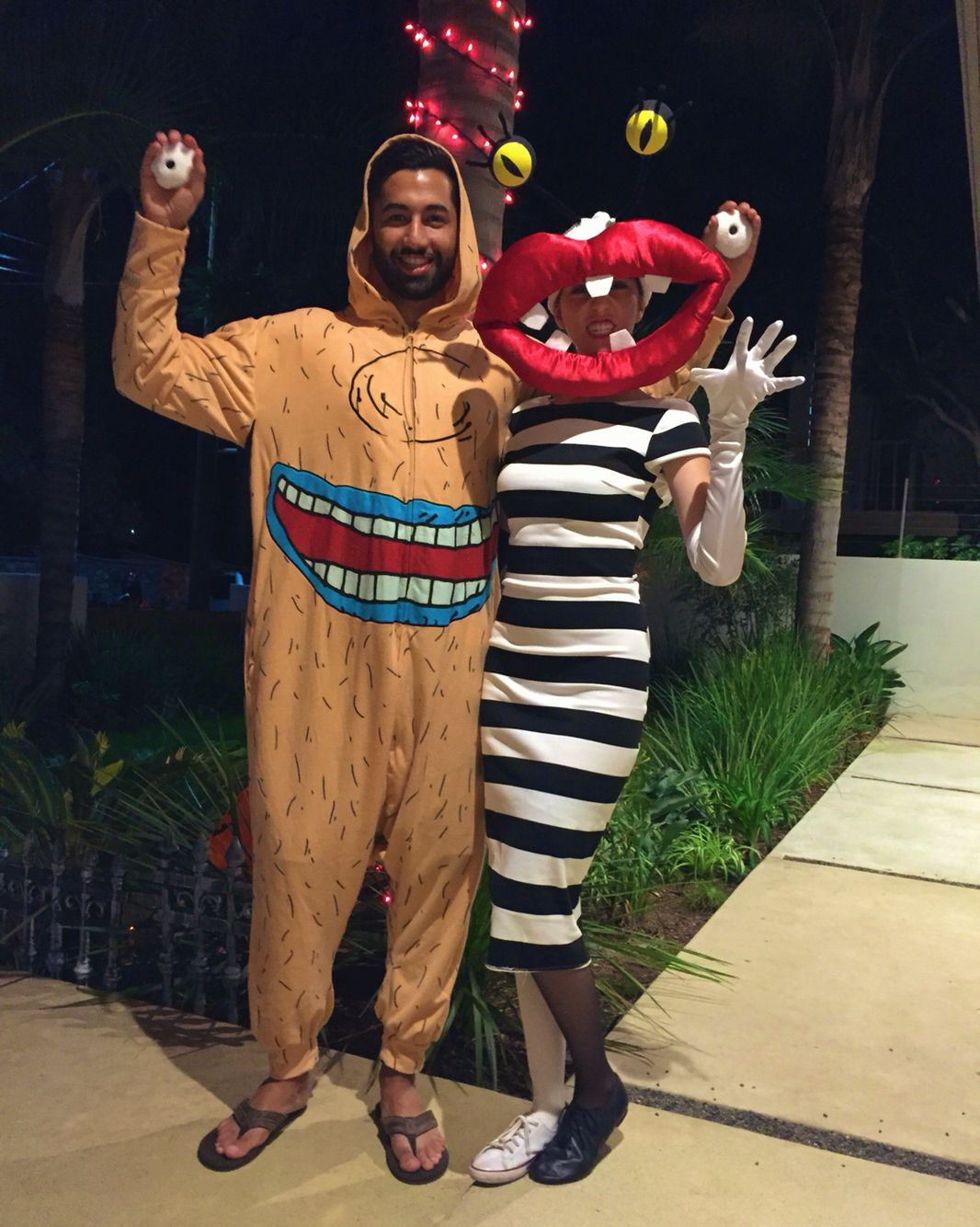 Aaahh! Real Monsters Costume | 90s nickelodeon couples costume ...