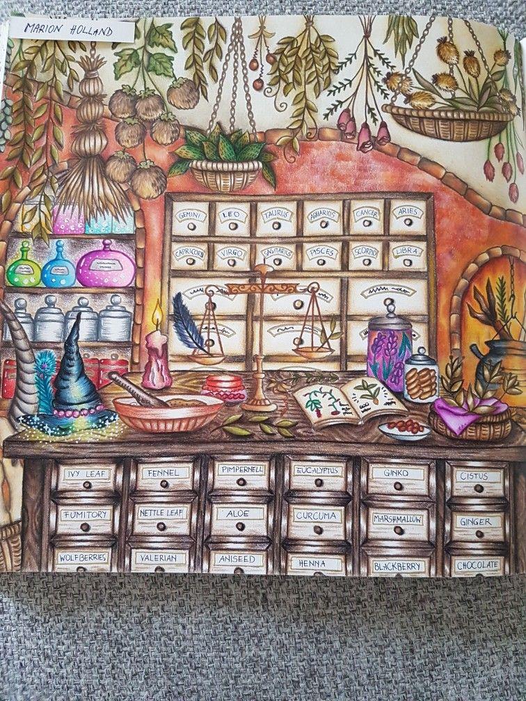 malen und zeichnenbild von marion holland auf malbücher