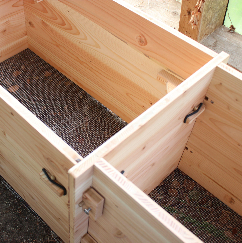 Bau Ein Hochbeet Mit Werkhaus Stecksystem Aus Douglasienholz In 2020 Werkhaus Hochgarten Douglasie Holz