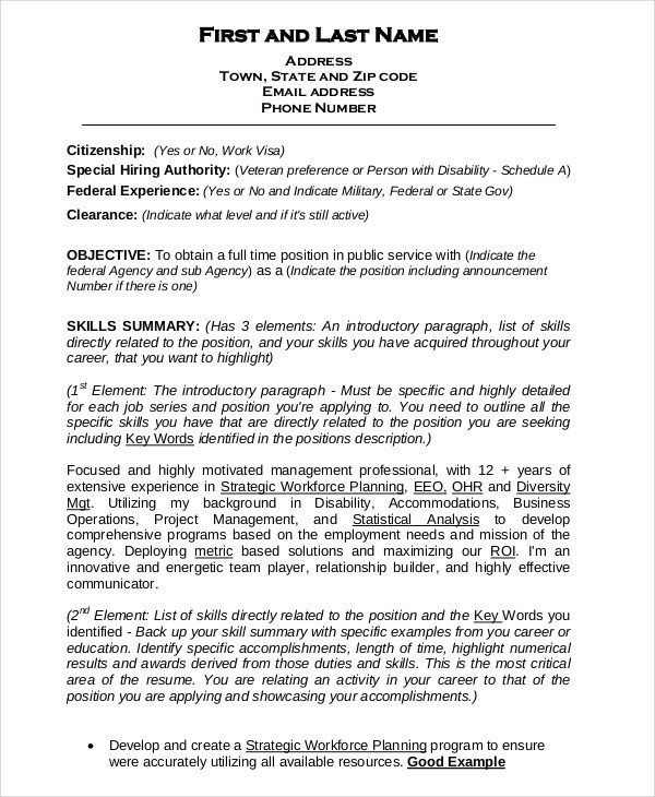great federal resume template 2018 ideas format for teachers pdf free download list of skills and qualifications career objective summary examples