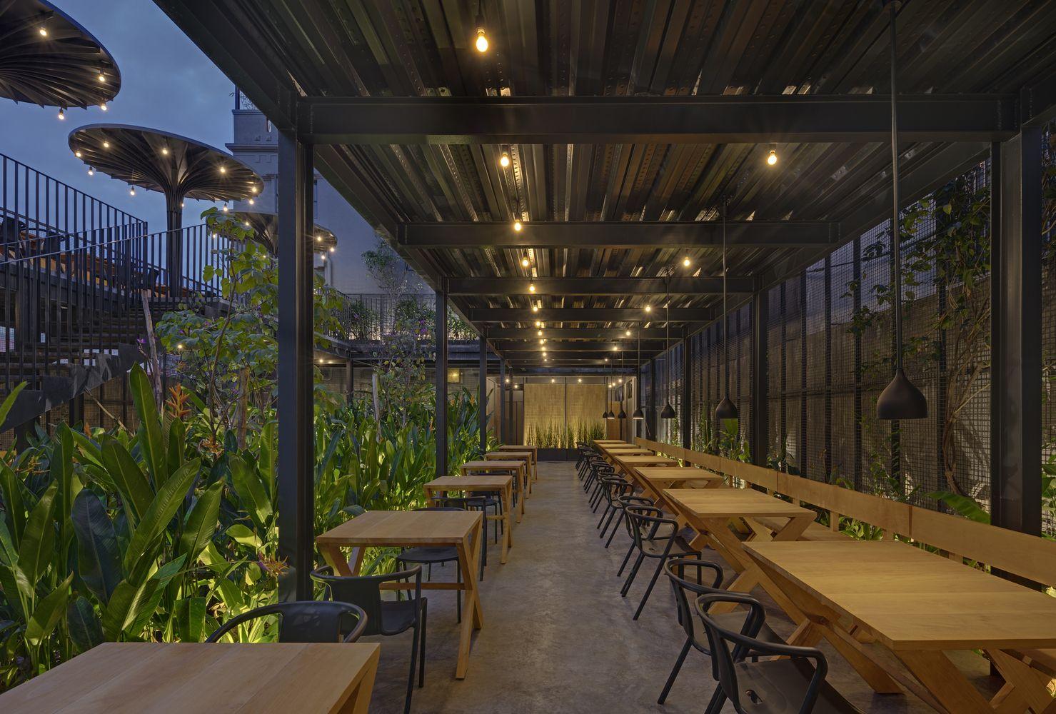 Garden Restaurant Exterior Design Trendecors