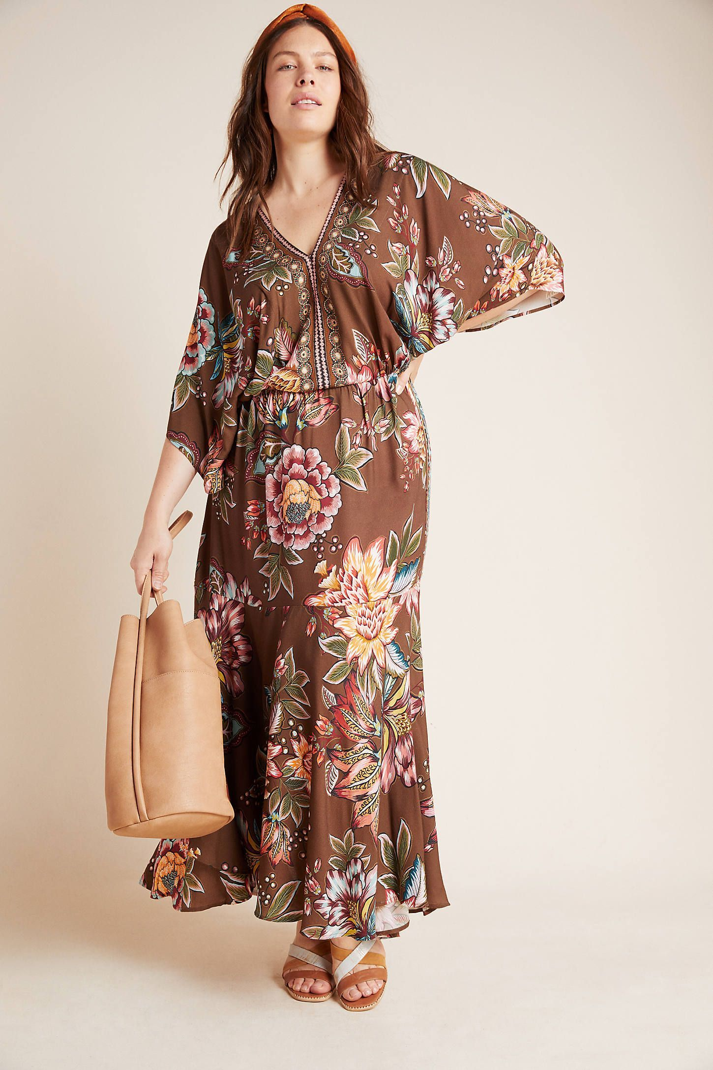 Plus Size Farm Rio Valentina Maxi Dress In Assorted Size 3 X Womens Dresses At Anthropologie Plus Size Max Plus Size Maxi Dresses Fashion Plus Size Dresses [ 2175 x 1450 Pixel ]