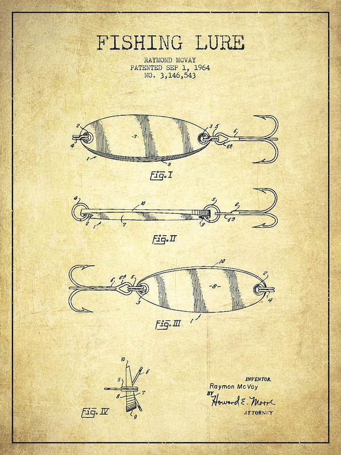 Vintage Fishing Luresclip Art Vintage Fishing Lure