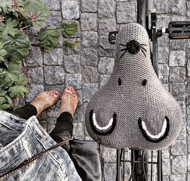 Bike seat warmer