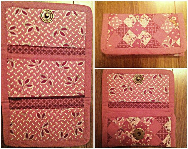 c2fd09622bbe How to make a Vera Bradley Inspired Quilted Wallet  sewingproject  diy