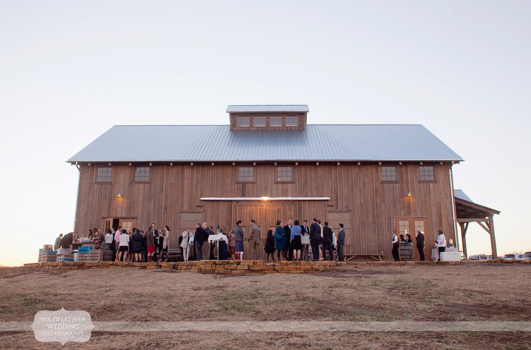 View Of The New Timber Frame Wedding Venue Barn At The