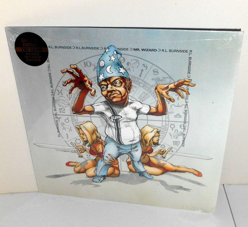R.L. BURNSIDE mr. wizard LP Record 180 GRAM Limited Edition Vinyl , SEALED #DeltaBlues
