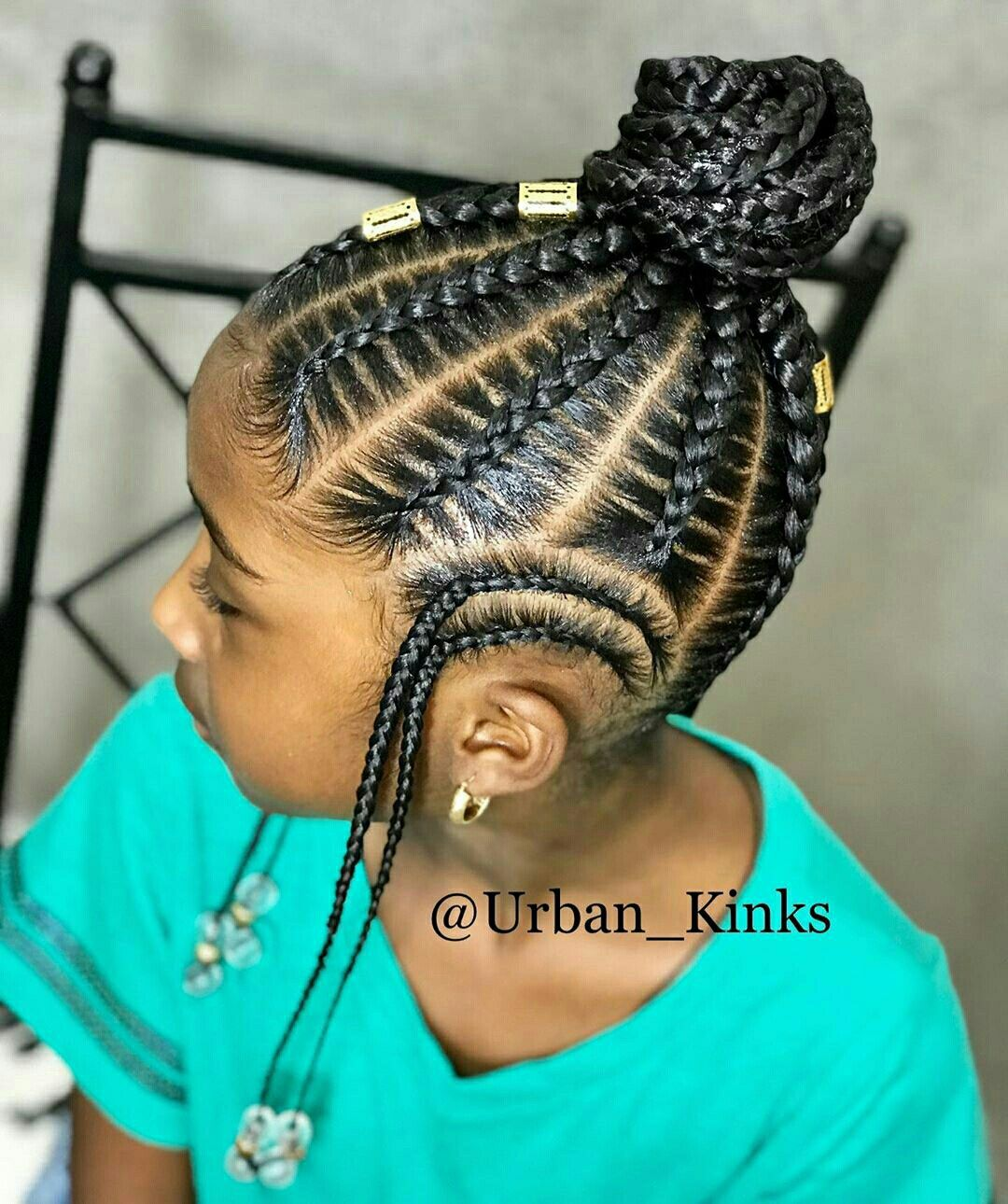 A Selection Of 50 Plus Kid Braid Styles And Little Girl Hairstyles Kidbraidstyles Littlegirlhair Little Girl Hairstyles Hair Styles Girls Natural Hairstyles