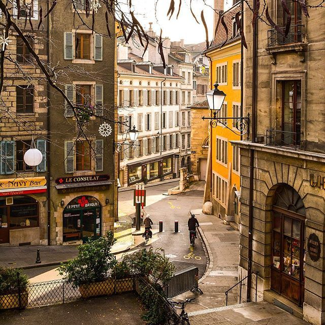 Good Places To Travel November: Geneva ~ Switzerland November 2016