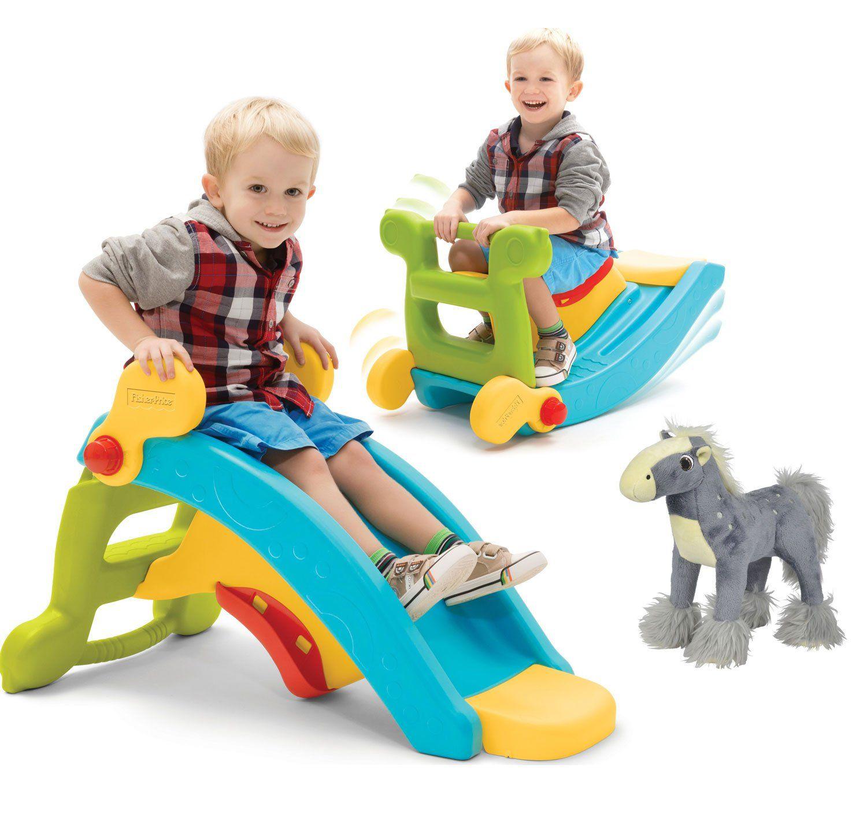 Zabawki na prezent Zestaw Fisher Price Zjeżdżalnia Bujak