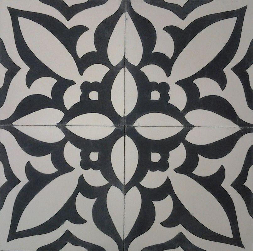 Encaustic Concrete Tiles Full Circle Design Studio